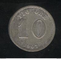 10 Ore Suède / Sweden 1907 TTB - Suède