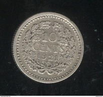 10 Centimes Pays Bas / Nederland 1921 TTB - [ 3] 1815-… : Royaume Des Pays-Bas