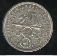 50 Cents British Caibbean Territories 1955 - Caraibi Orientali (Stati Dei)
