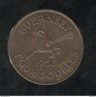 4 Doubles Guernesey 1956 SUP - Guernesey