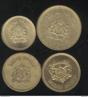 Lot De 4 Monnaies Maroc FAO - Morocco