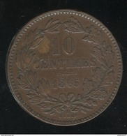 10 Centimes Luxembourg 1865 SUP - Luxembourg