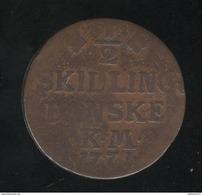 1/2 Skilling 1771 Danemark - TB+ - Dänemark