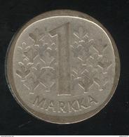 1 Markaa Finlande 1965 - TTB+ - Finland