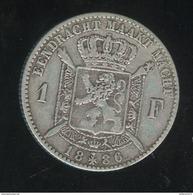 1 Franc Belgique 1886 Léopold II Koning Der Belgen - TTB+ - 07. 1 Franc