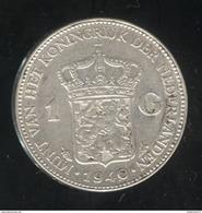 1 Gulden - Pays Bas / Netherland / Nedeland 1940 - Wilhelmina - 1 Gulden