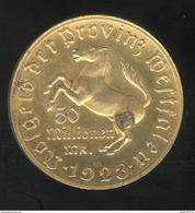 Notgeld Westphalie / Westfalen - 50 Millions De Mark / 50 Millionen Mark 1923 - Freiherr Vom Stein - TTB+ - [ 3] 1918-1933 : Weimar Republic