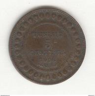 5 Centimes Tunisie 1916 A - Tunisia