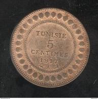5 Centimes Tunisie 1917 A - Tunisia