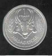1 Franc Madagascar 1958 - Colonie Française - Colonies