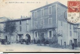 CPA  Banon - Hôtel Creste -  Circulé 1938 - Autres Communes