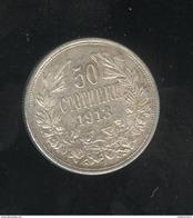 50 Stotinki Bulgarie / Bulgaria 1913 - Bulgaria