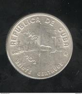 20 Centavos Cuba 1952 - Cuba
