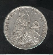 1/2 Sol Pérou / Peru 1907 - Peru