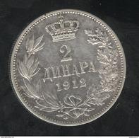 2 Dinars Serbie 1912 - Serbie