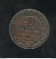 1 Kopeck Russie / Russia 1899 - Russia
