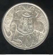 50 Cents Australie 1966 - TTB+ - Monnaie Décimale (1966-...)