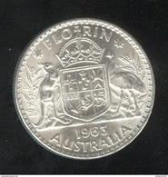 1 Florin Australie 1963 - SUP - Sterling Coinage (1910-1965)