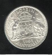 1 Florin Australie 1963 - SUP - Monnaie Pré-décimale (1910-1965)