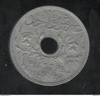 1 Piastre Liban / Lebanon 1940 - SPL - Liban