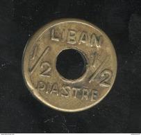 1/2 Piastre Liban / Lebanon 1942 - 1945 - Libano
