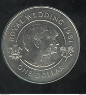 1 Dollar Bermudes / Bermuda - CC Royal Wedding 1981 - Bermudes