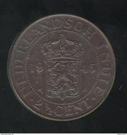 2,5 Cent Indes Néérlandaises / Nederland Indie 1945 - SPL - Inde