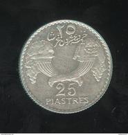 25 Piastres Liban / Lebanon 1936 TTB+ - Lebanon