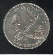 1 Dollar Nouvelle Zélande / New Zealand - CC 200ème Anniversaire Du Voyage Du Capitaine Cook 1979 - Nouvelle-Zélande
