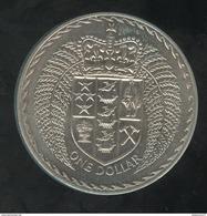 1 Dollar Nouvelle Zélande / New Zealand - CC Introduction Du Système Décimal 1972 - Nouvelle-Zélande