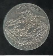 1 Dollar Nouvelle Zélande / New Zealand - CC Visite Royale 1970 - Nouvelle-Zélande