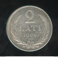 2 Lati Lettonie 1926 - Lettonie