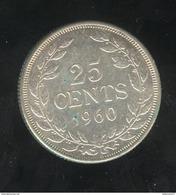 25 Centimes Liberia 1960 - Liberia