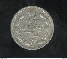 15 Kopecks Russie 1903 - Russie