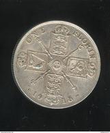 1 Florin Grande Bretagne / United Kingdom 1918 TTB - 1902-1971 : Monnaies Post-Victoriennes