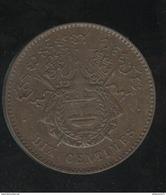 10 Centimes Royaume De Cambodge 1860 - SUP - Cambodge