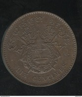 10 Centimes Royaume De Cambodge 1860 - SUP - Camboya