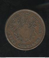 5 Centimes Royaume De Cambodge 1860 - SUP - Cambodge