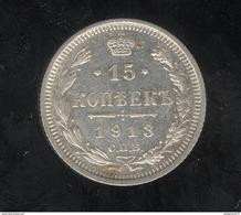 15 Kopecks Russie 1913 TTB+ - Russland