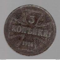 3 Kopeck Allemagne Pour Les Territoires Occupés 1916 J - TB+ - [ 2] 1871-1918: Deutsches Kaiserreich
