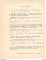 Tract La Grande Illusion - Anti Mendès-France - Anti Mitterrand - Mai 68 - Association Pour Le Soutien De La République - Afiches