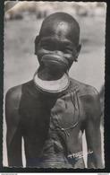 CPSM Coloniale - AEF - Négresse à Plateaux - Circulée - Afrique