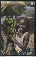 CPSM Coloniale - L'Afrique En Couleurs - La Cueillette Des Bananes - Non Circulée - Afrique