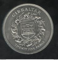 25 Pence Gibraltar 1977 - Gibraltar