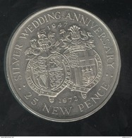 25 Pence Gibraltar 1972 - Gibraltar