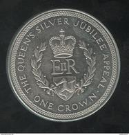 1 Crown Ile De Man 1977 - Monnaies