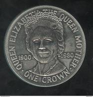 1 Crown Ile De Man 1980 - Monedas