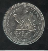 1 Crown Ile De Man 1978 - Monnaies