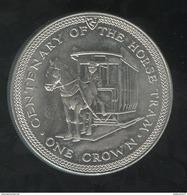 1 Crown Ile De Man 1976 - Monnaies