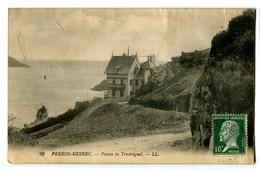 CPA 22 Côtes D'Armor Perros-Guirec Pointe De Trestrignel - Perros-Guirec